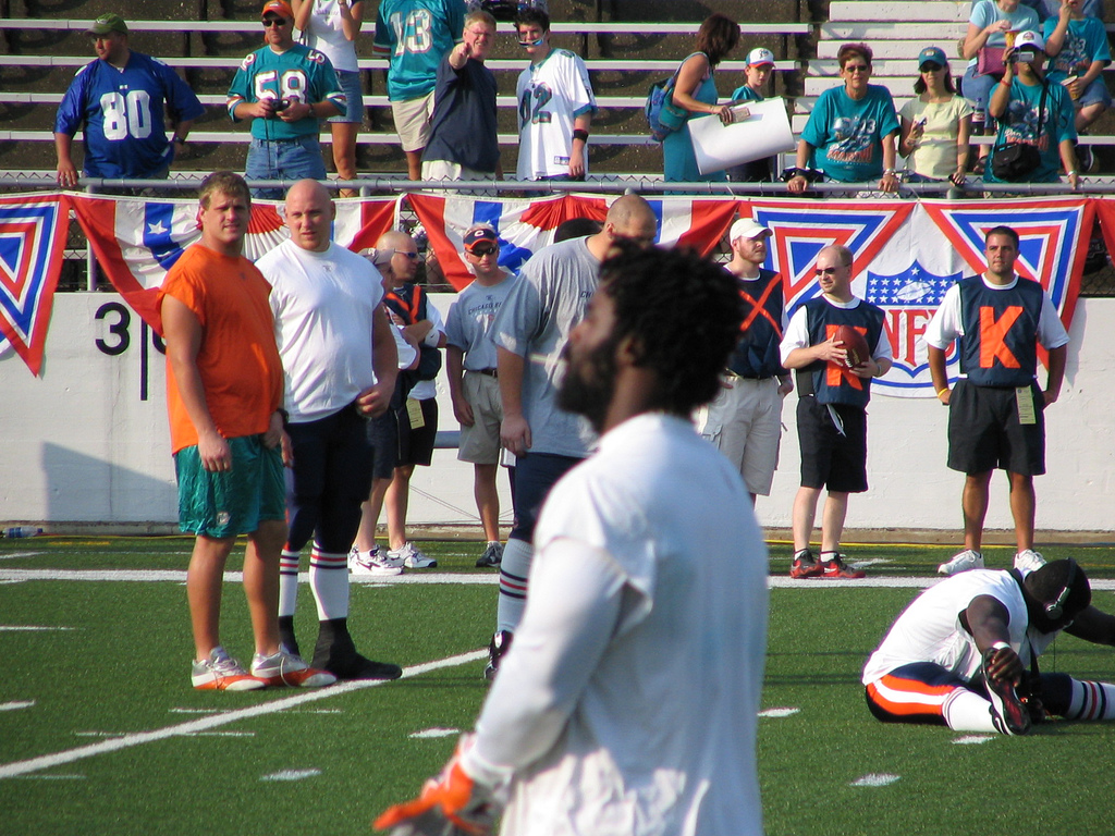 Ricky Williams is a fascination to fans, teammates, and opponents alike.