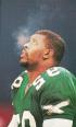 He might not be regarded as one, but Reggie White's role on the defensive line was the football equivalent of slang. Photo by Keith Fujimoto.