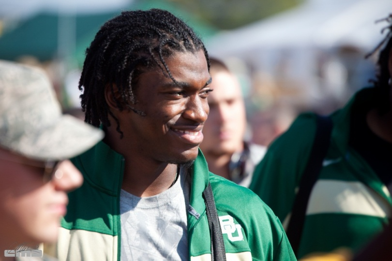 So where will RGIII go in a Writer's Draft? We'll soon know as the 2nd Annual RSP Writer's Project gets underway. Photo by Mike Davis.
