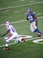 Paired with Lynch, Spiller gives Stafford a sound 1-2 punch for his starting lineup. Photo by Matt Britt