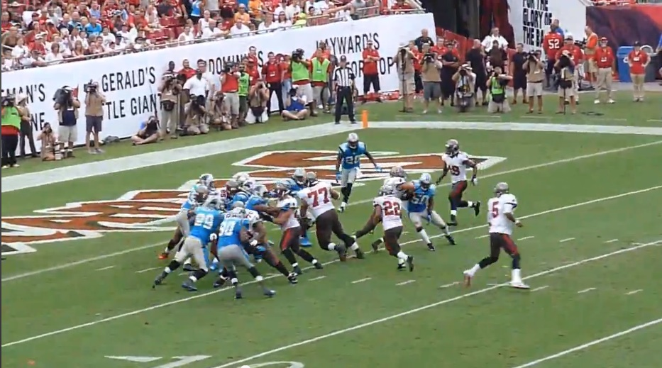 RSP contributor and former college assistant Nick Whalen submitted this analysis of Doug Martin's progression as an up and coming NFL running back just hours before his explosive performance against the Oakland Raiders. See below.
