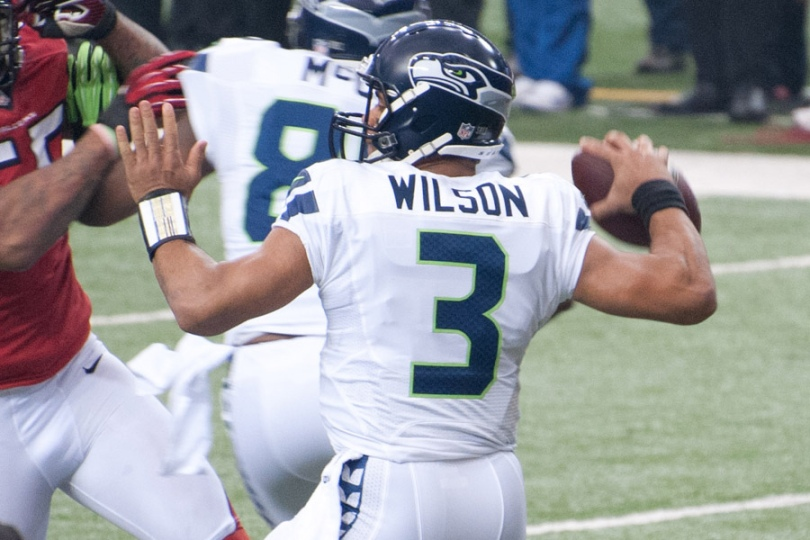 If you got the 2012 RSP and the 2012 RSP Post-Draft that comes with it, you knew Russell Wilson was one of the best values of the 2012 Draft class. Photo by Football Schedule.