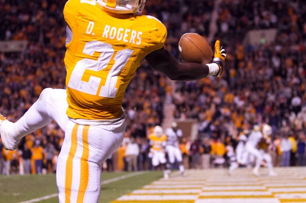 Rogers has the kind of upside to render draft status useless. Photo by Wade Rackley.