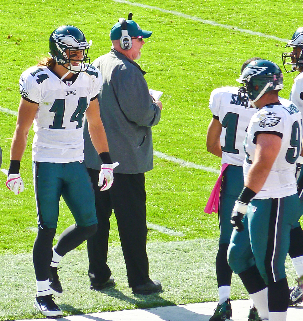 Riley Cooper is one of many players who make Jason Wood's team a dangerous squad if he gets over the bubble. Photo by Matthew Straubmuller.