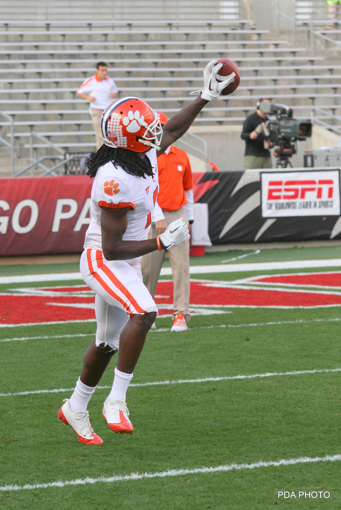 Watkins has the upside to lap the field of some fine receiver prospects when it comes to NFL potential. Photo by PDA.Photo.