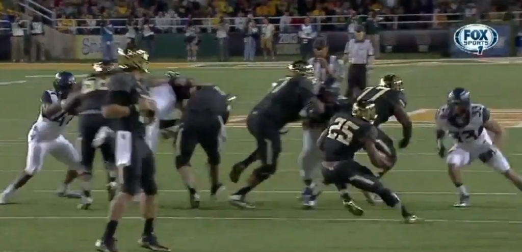 This shot begins one of my favorite runs of the year, painted courtesy of Baylor's Lache Seastrunk.