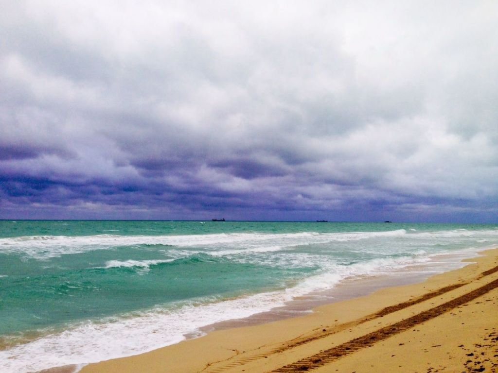 """My grandfather and I used to take 7 am swims on Miami Beach then get some Cuban food. """"Blue In Green"""" courtesy of one of the great jazz educators ever, Whit Sidener."""