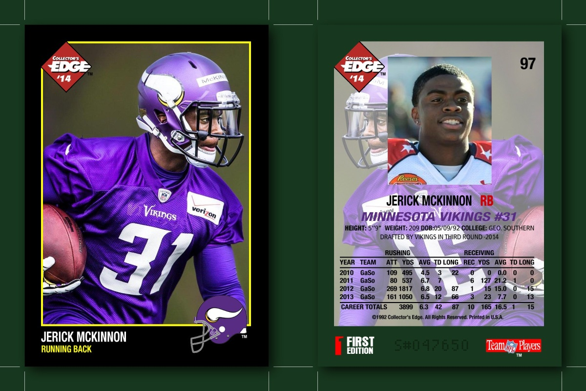 Talent Mining: Vikings RB Jerick McKinnon