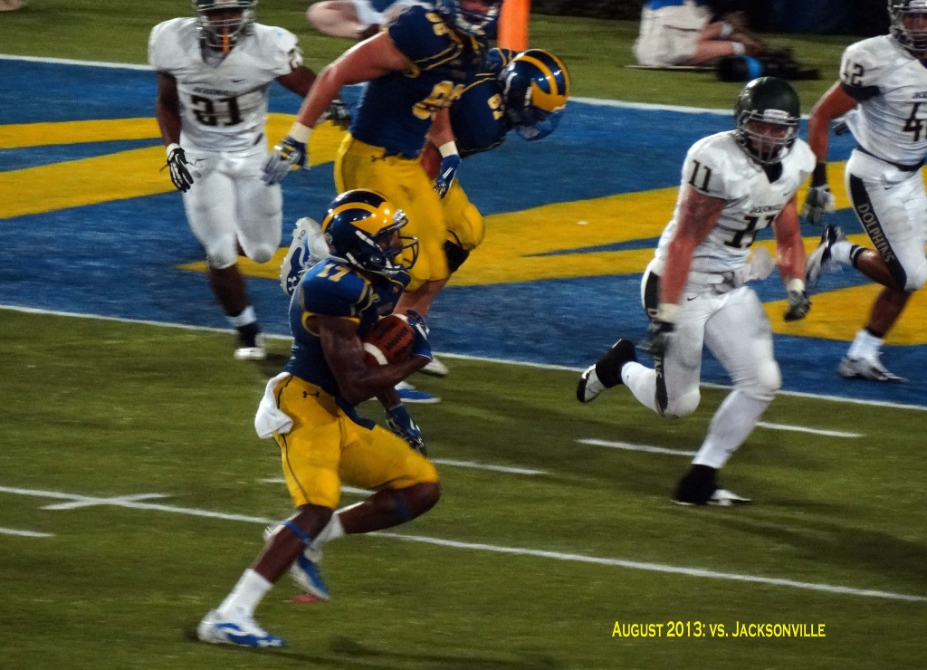 Photos of Mike Johnson by Blue Hen Alum.