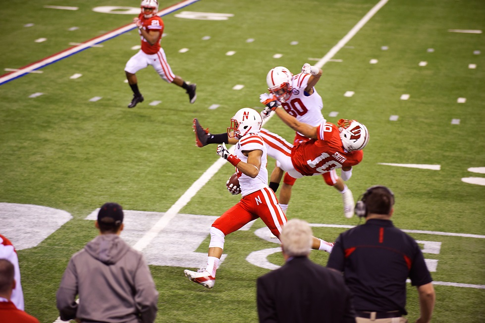 I introduce Kenny Bell to the ESPN Fantasy Today podcast. Photo by JReed1912.