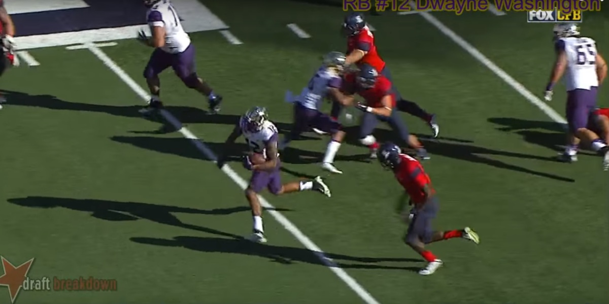 RSP Film Room No.64: Huskies RB Dwayne Washington w/Sigmund Bloom