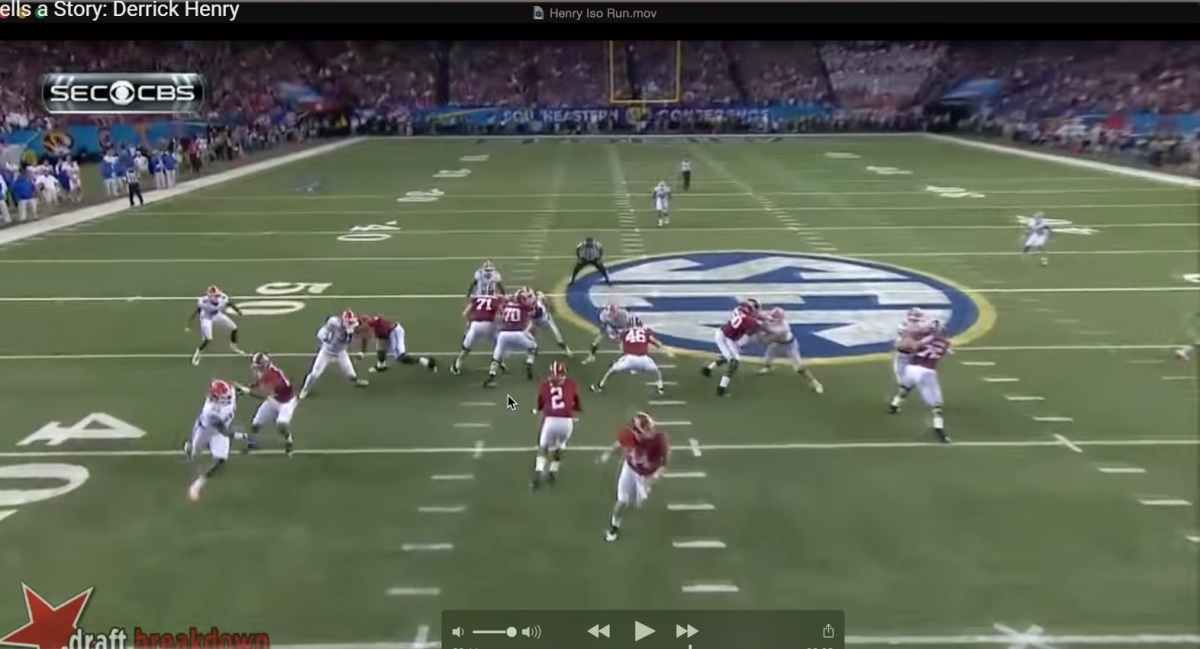 Lost in Translation: The Derrick Henry Footwork Clip