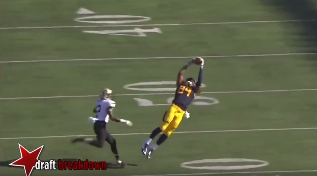 RSP Boiler Room No.23: TE/WR Stephen Anderson, Cal - Intangibles on Film