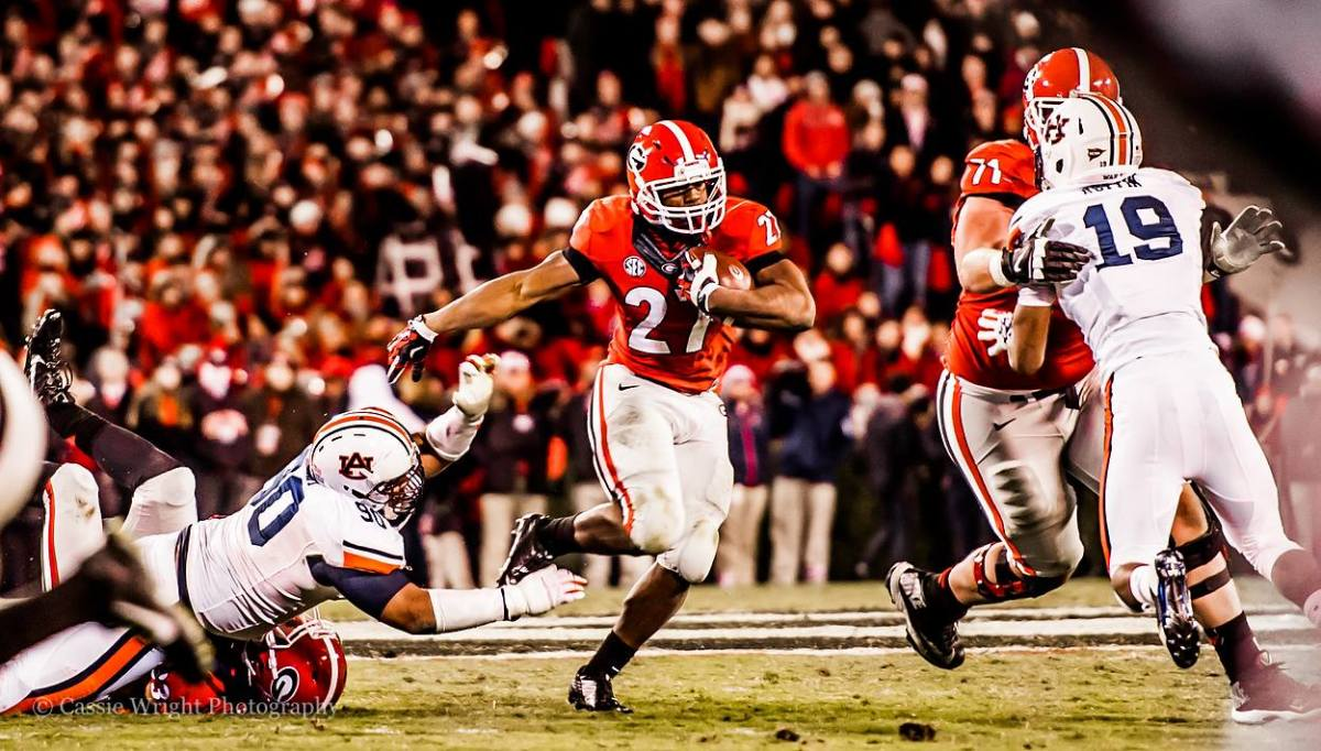 RSP Boiler Room No. 121: RB Nick Chubb (Georgia), Balance, Flexion, And Footwork