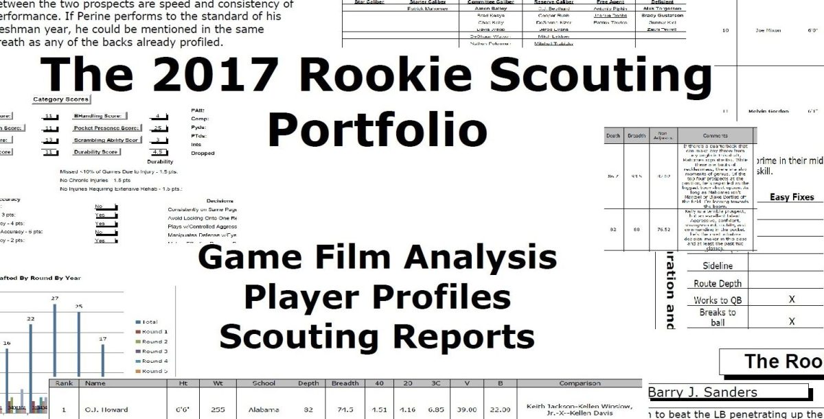 The 2017 Rookie Scouting Portfolio Is Now Available for Download!