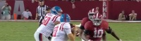 Quarterback Chad Kelly's game tape from Ole Miss is examined to determine his 2017 NFL Draft Stock
